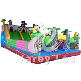 供應大型充氣遊樂玩具設施 充氣城堡 充氣卡通城堡樂園