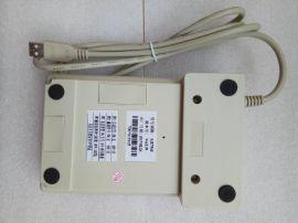三晶SJE754U磁卡刷卡机带键盘 USB磁卡读卡器三晶754U