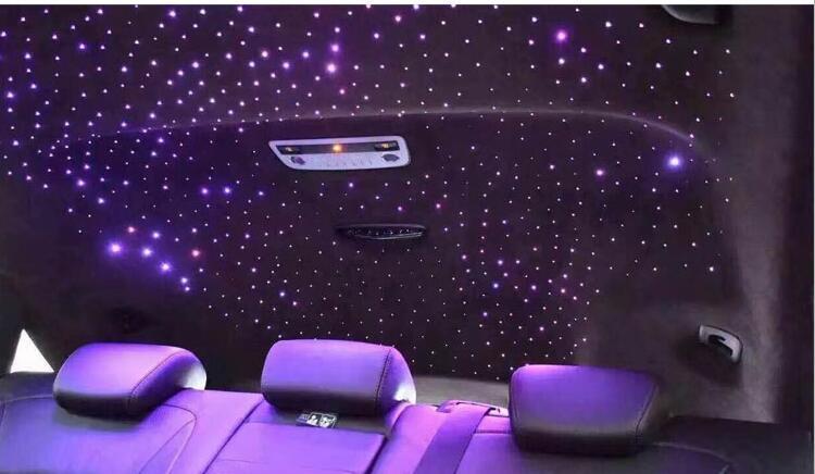 汽車頂棚滿天星 星空頂改裝 車載滿天星內飾裝飾