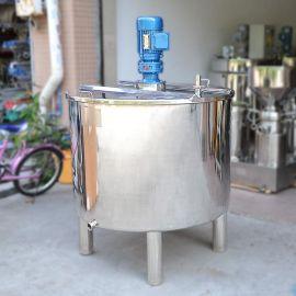 不锈钢搅拌桶 配料桶 液体搅拌罐 单层搅拌桶 可定制大小