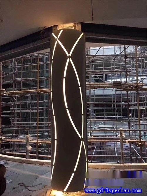 欧百建材铝单板厂家供应嘉兴艺术镂空铝板幕墙氟碳铝单板