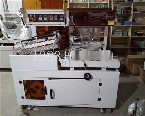 热收缩包装机自产厂家 全封闭精美礼盒套膜封切机 保健品包装机