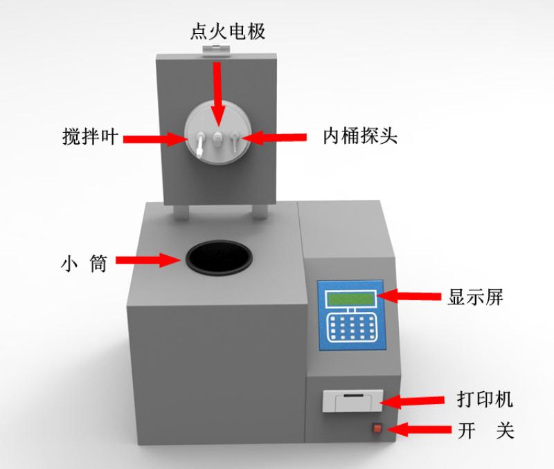 煤矸石砖厂大卡机-坯子生料热量化验设备