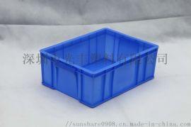 塑料周转箱加厚物流箱子塑胶框收纳工具箱带盖周转箱