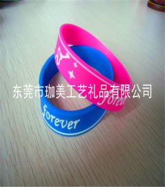 供应硅胶手环 塑胶手环 能量手环 卡通手环