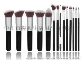 欧美风格简约实用化妆工具刷