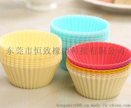 厂家直销大号硅胶马芬杯 耐高温马芬杯 硅胶蛋糕模