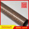 304拉絲紅銅亮光不鏽鋼管廠家定製