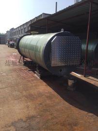 ERP玻璃钢一体化污水泵站
