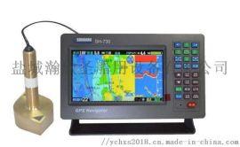 顺航SH730 船用多功能GPS导航仪,测深仪
