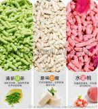 豆腐猫砂,原味绿茶水蜜桃,粗砂细砂,6L