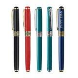 YIHAN/憶涵 黑色0.5mm中性筆金屬簽字筆可印LOGO正品新款特價促銷