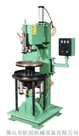 广州轮圈四轴自动焊接机 卧式环缝焊机 不锈钢圆管自动环缝焊机