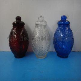 厂家供应玻璃储物罐 糖果罐 礼品罐 玻璃瓶 玻璃罐