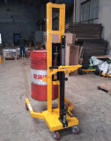 DTF450B 载重450kg升0.6米液压油桶搬运车手拉油桶车 油桶堆高车