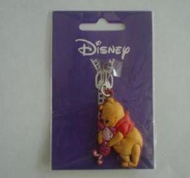 塑胶公仔PVC钥匙扣,软胶卡通动物钥匙扣