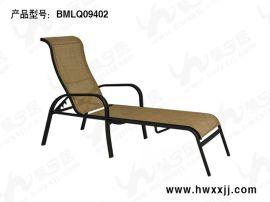 深圳泳池躺椅 温泉度假躺椅 特斯林网布躺椅