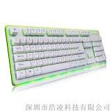 B.FRIENDit GK3懸浮式黑軸機械有線鍵盤