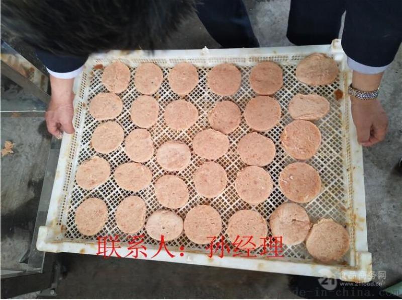 尚品CXJ-100型汉堡肉饼成型机专用设备