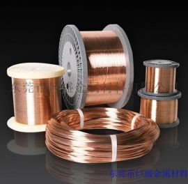 东莞巨盛专业生产磷铜线,天线弹簧用磷铜线,质量保证