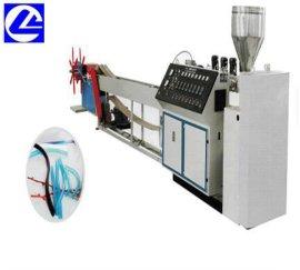 PVC家具封边条挤出机设备 汽车软质密封条异型材生产线