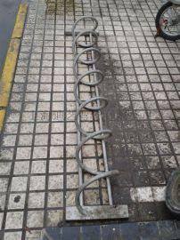 螺旋自行车停车架