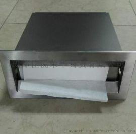 成都廠家批發不鏽鋼鏡後抽紙箱