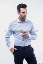 订做男士商务免烫长袖衬衫