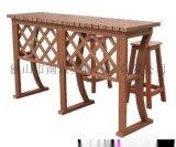 南景NJ010塑木吧凳