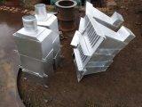 屋頂排水用鋼製側排式雨水斗DN100屋面雨水斗