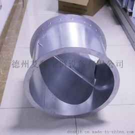风量调节阀圆形厂家直销不锈钢304镀锌板白铁皮手动调节阀