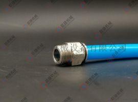 NPT螺纹快插直通 不锈钢气动元件 气动快插接头