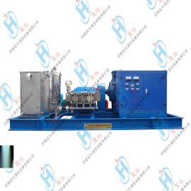 工厂冷凝器清洗机  热交换器高压水射流清洗机