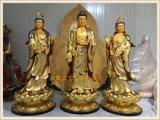 温州西方三圣佛像厂家,供应z20玻璃钢西方三圣佛像