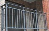 永奇金属制品锌钢阳台护栏锌钢百叶窗生产拼装好发货