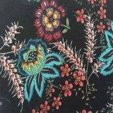 欧美风格、时尚雪纺印花布