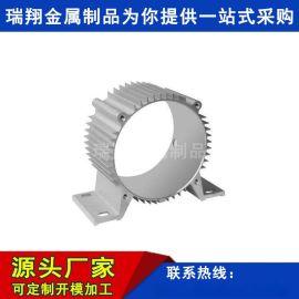 定制加工电机铝外壳电机壳型材6063铝材厂家