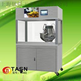 钛舜爆米花机商用全自动爆米花机器玉米膨化机电磁爆谷机