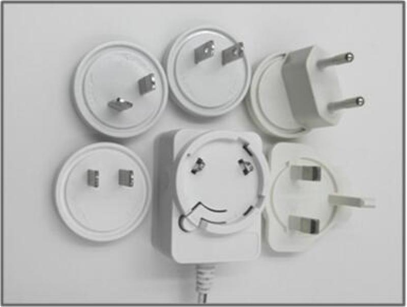 厂家直销12V1A美规电源适配器,加湿器专用