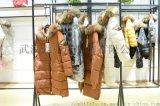 服装进货的行话白领风采羽绒女短款【一手货源】