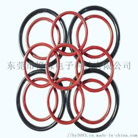 硅胶密封圈 耐高温防尘圆形硅胶圈 密封圈生产工厂