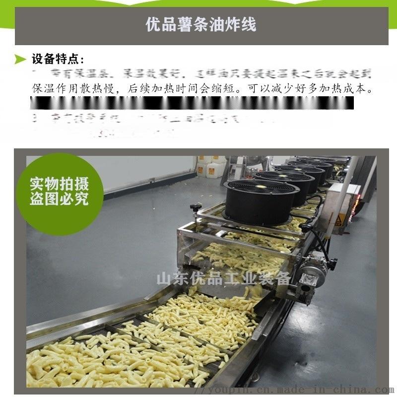 薯片全自动电加热油炸设备