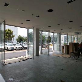 佛山地弹簧铝合金门,办公楼地弹簧铝合金门