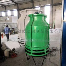 玻璃钢冷却塔生产厂家现货供应圆形低噪音耐高温凉水塔