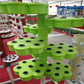 溫室大棚 螺旋仿生管道立柱式 水培種植設備