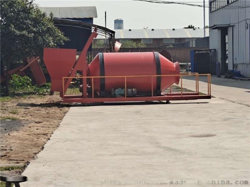 微生物有机肥设备价格-履带式翻抛机