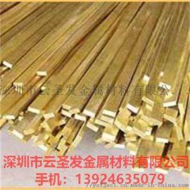 供应贵州H65国标黄铜排 接地铜排厂家直销