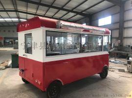 多功能电动美食车重庆摊位移动小吃车厂家定制早餐车
