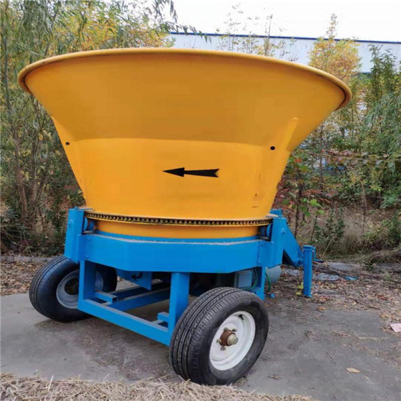 圓盤式粉碎機,牧草方捆秸稈粉碎機
