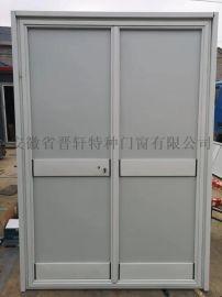 江西佳航彩色涂层钢板门加工工厂彩板门销售
